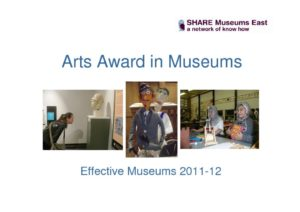 thumbnail of Arts-Award-In-Museums-Report