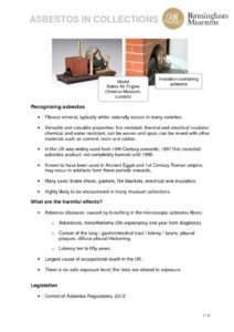 thumbnail of Asbestos-in-Collections-Handout-SHARE