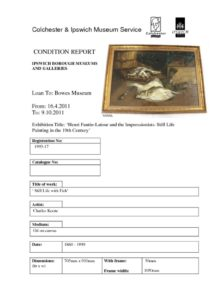 thumbnail of Condition-Report-Example-1