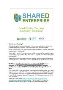 thumbnail of Crowdfunding