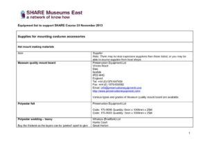 thumbnail of Equipment-list-to-support-SHARE-Course-25-November-2013