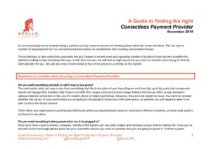 thumbnail of Apollo Fundraising Guide to finding the right Contactless Payment Provider – 08.12.19_(TO USE)