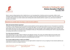 thumbnail of Apollo Fundraising Guide to finding the right Online Donation Platform_compressed
